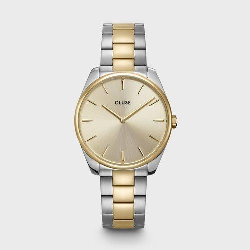 Reloj Feroce para mujer bicolor plata y oro de la colección primavera/verano 2020 de Cluse