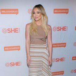 Hilary Duff asiste al BlogHer20 Health en Los Ángeles
