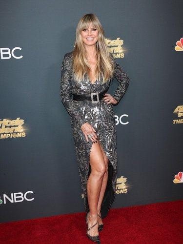 Heidi Klum en la Gala de los American´s Got Talent