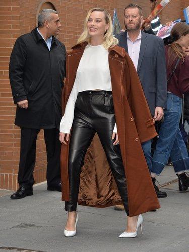 Margot Robbie por las calles de Nueva York
