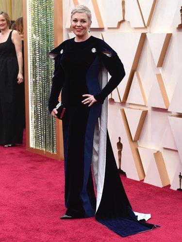 Olvia Colman con un vestido de Stella McCartney en los Oscar 2020