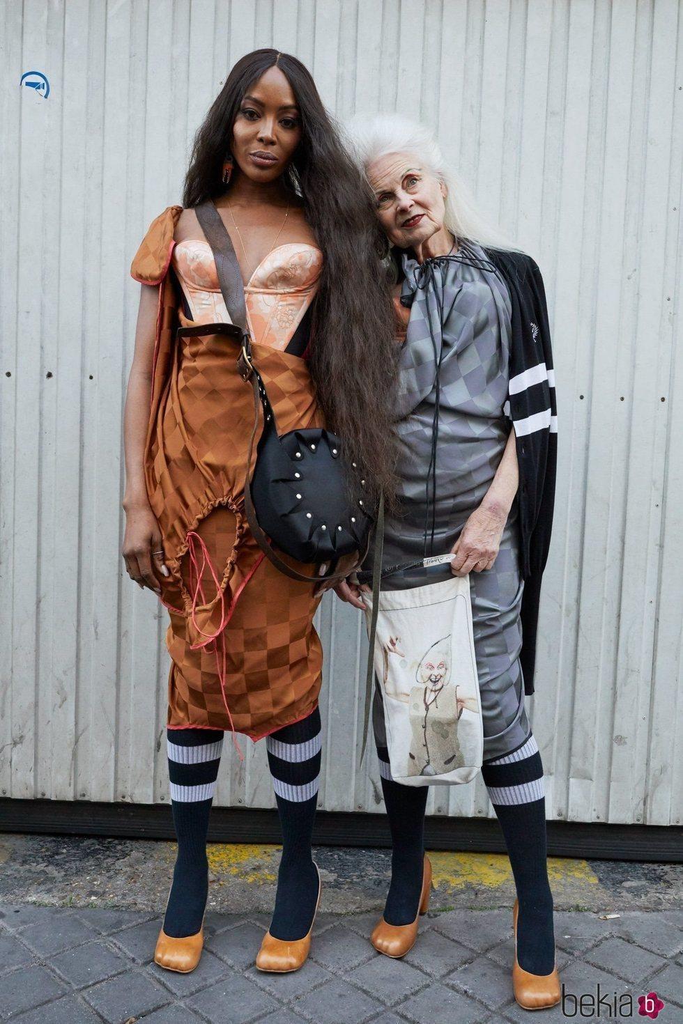 Vestido combinado de la colección primavera/verano 2020 de Vivienne Westwood