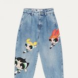 Jogger Jeans colección 'Las Supernenas x Bershka'