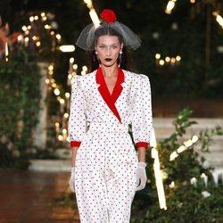 Vestido de lunares otoño/ invierno 2020 de Rodarte