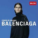Chándal negro con detalles en blanco de la colección primavera/verano 2020 de Balenciaga