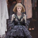 Vestido de tul desfile otoño/invierno 2020-2021 de Gucci