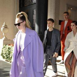 Cara Delevingne asiste a la Milan Fashion Week 2020