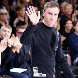 Raf Simons en la París Fashion Week de 2014