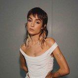 Natalia Lacunza con un top de Manémané en un concierto de su 'Tiny tour'