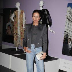 Nieves Álvarez con un look casual en la exposición 'ELLE, 75 an?os al lado de la mujer'