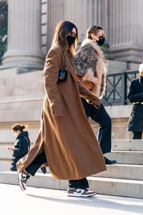 Kendall Jenner y Bella Hadid entrando en el Museo Metropolitano de Nueva York