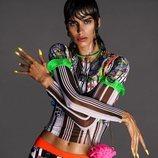 Mica Argañaraz protagonizando la campaña primavera/verano 2021 de Versace