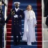 Jennifer Lopez vestida de Chanel en la toma de posesión de Joe Biden
