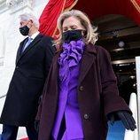 Hillary Clinton vestida de Ralph Lauren en la toma de posesión de Joe Biden