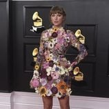 Taylor Swift de Oscar de la Renta en los Grammy 2021