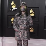 Billie Eilish de Gucci en los Grammy 2021