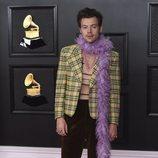 Harry Styles de Gucci en los Grammy 2021