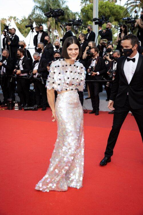 Soko vestida de Gucci en el Festival de Cannes 2021