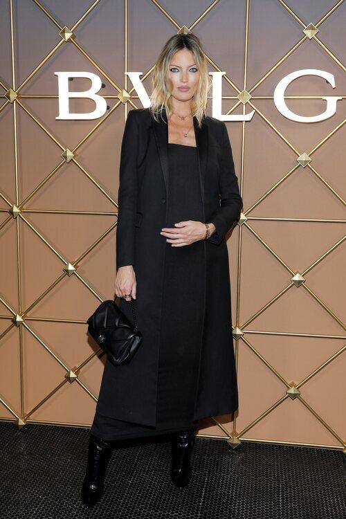 Martha Hunt en un evento de Bulgari en la Semana de la Moda de Nueva York primera/verano 2022