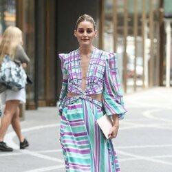 Olivia Palermo en la Semana de la Moda de Nueva York primera/verano 2022