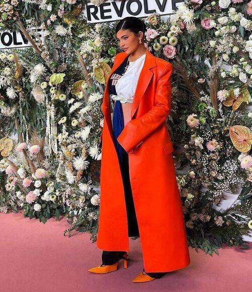 Kylie Jenner en un evento de Revolve durante la Semana de la Moda de Nueva York primera/verano 2022