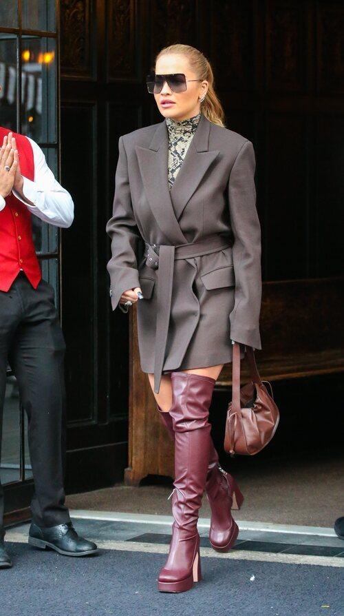 Rita Ora en la Semana de la Moda de Nueva York primera/verano 2022