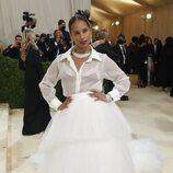 Alicia Keys de AZ Factory en la Met Gala 2021
