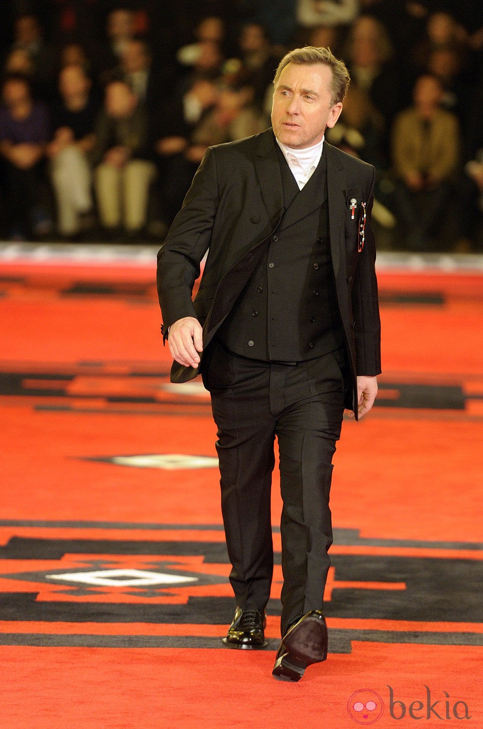 Tim Roth desfila para Prada en la semana de la moda de Milán