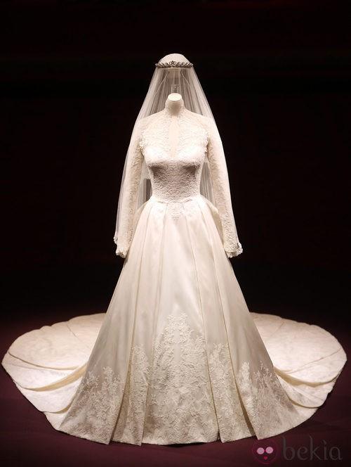 Vestido de novia diseñado por Sarah Burton para la Duquesa de Cambridge