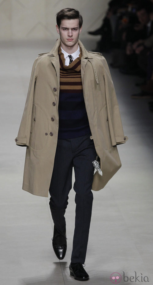 Semana de la moda masculina de Milán 2012: Burberry