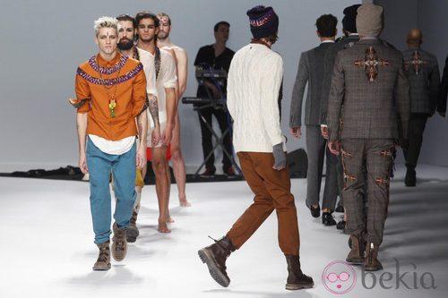 Semana de la moda masculina de Milán 2012: Frankie Morello