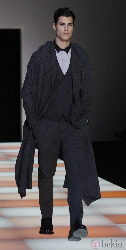 Semana de la moda masculina de Milán 2012: Armani