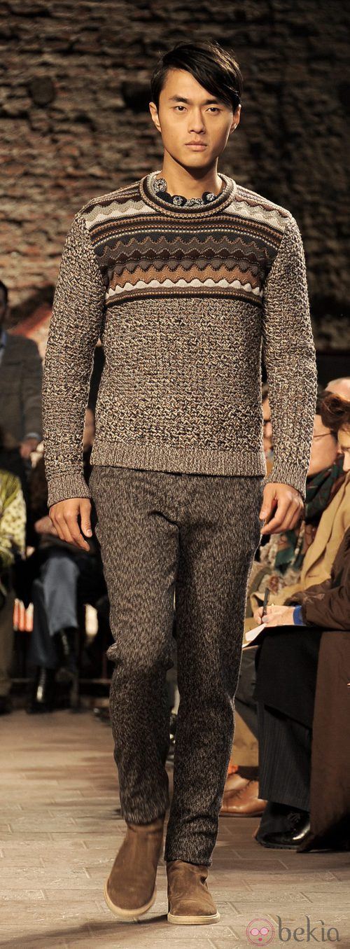 Semana de la moda masculina de Milán 2012: Missoni