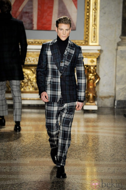 Semana de la moda masculina de Milán 2012: Vivienne Westwood