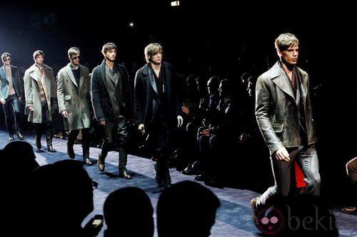 Semana de la moda masculina de Milán 2012: Gucci
