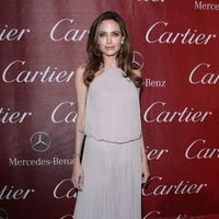 Angelina Jolie con vestido de Elie Saab en el Festival de Palm Springs 2012