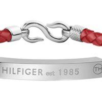 Pulsera con correa roja de la colección 'San Valentín' de la firma Tommy Hilfiger