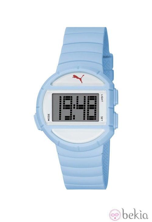 Reloj deportivo 'Half Time' de la firma Puma en color azul