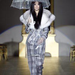 Desfile de Roberto Verino en la Fashion Week Madrid colección otoño/invierno 2012/2013