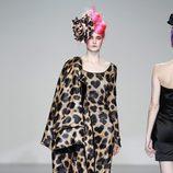 Vestido con animal print de Elisa Palomino en la Madrid Fashion Week