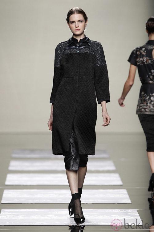 Abrigo de la colección otoño/invierno 2012/2013 de Fashion Week Madrid