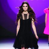Vestido de tul negro de la colección otoño/invierno 2012/2013 de Teresa Helbig