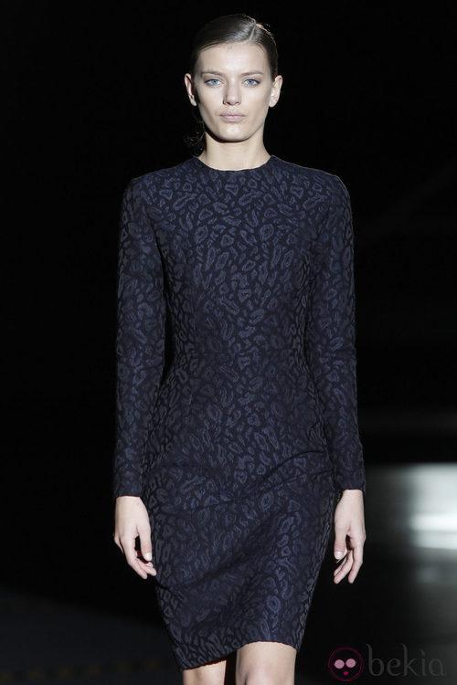 Vestido  de manga larga de Davidelfin en la Madrid Fashion Week
