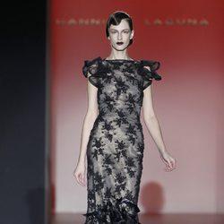 Vestido largo de encaje de la colección otoño/invierno 2012/2013 de Hannibal Laguna