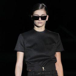 Conjunto de total black de la colección otoño/invierno 2012/2013 de Davidelfin