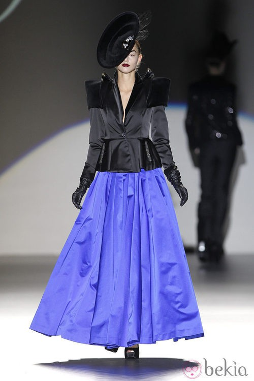 Traje 'New Look' de Maya Hansen en Madrid Fashion Week