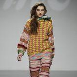 Diseño de punto con múltiples estampados de Mercedes Castro en 'El Ego' de Fashion Week Madrid