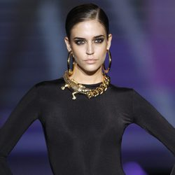 Complementos de cadenas de cocodrilo de Aristocracy en la Fashion Week Madrid