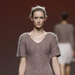 Mini vestido de punto de Sita Murt en la Fashion Week Madrid