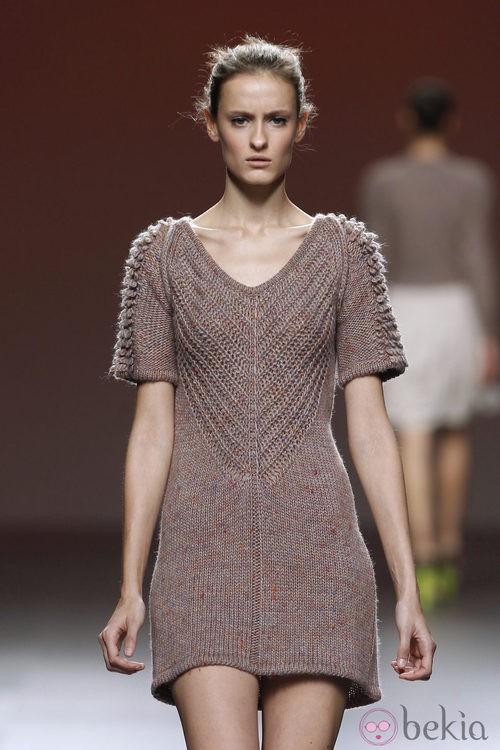 Mini vestido de punto de Sita Murt en la Fashion Week Madrid
